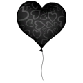 Luftballon-Herz