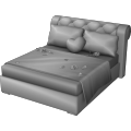 Boxspring Double Bed
