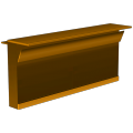 Barra bar larga