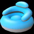 Siège flottant pour piscine