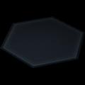 """Bodenplatte """"Hexagon"""""""