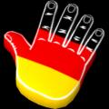 "Riesenhand ""EURO 2012"""