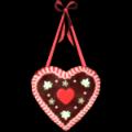 Gingerbread Heart