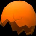 Eggshell Hat