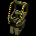 Poitrine du robot
