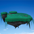 * Random Floating Island *