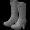 Zapatos Plateau