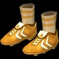 Golden Soccer Boots