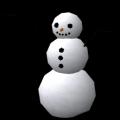 Muñeco de nieve pequeño