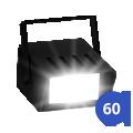 Iluminação Strobo 60 bpm