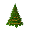 Medium Fir Tree with Ribbon