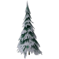 Large Snowy Tree