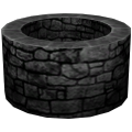 Mur, rond