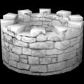 Wand, rund